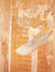 Maat as protective female deity, 12century B.C.E.