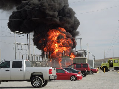 COR Transformer fire